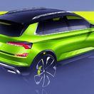 Škoda Vision X: Ženevský koncept nebude Aronou. Bude to 'Rapid SUV'!