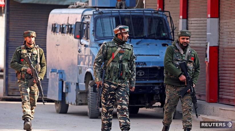 India, Kašmír, vojaci