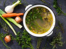 zeleninový vývar, polievka