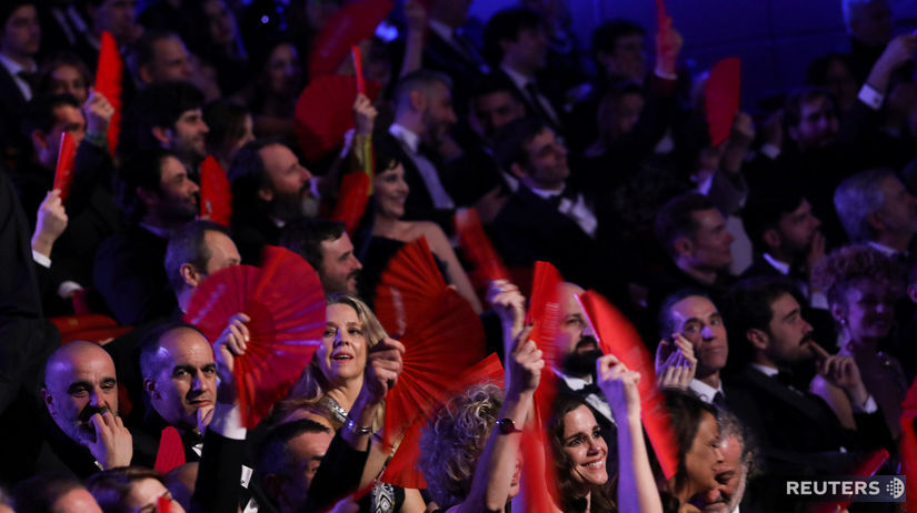 Časť hostí na vyhlásení cien Goya Awards