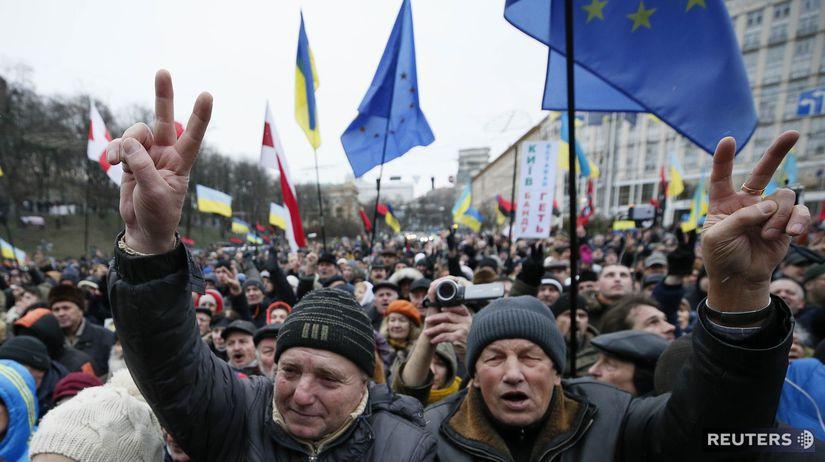 ukrajina, saakashvili, kyjev, demonštrácie