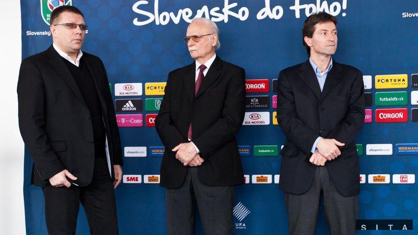 Ladislav Kačáni, Ján Kováčik, Jozef Kliment