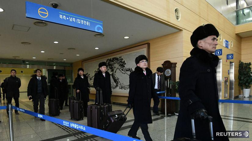 Severná Kórea, delegácia