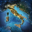 Sicília, Taliansko, mapa, stredomorie