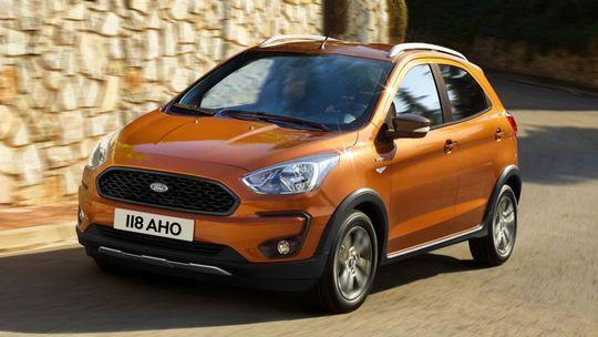 Ford Ka+: Facelift,  diesel a outdoorová verzia Active!