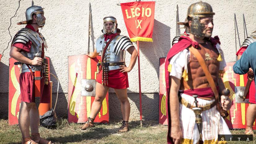 Gerulata Rímske hry