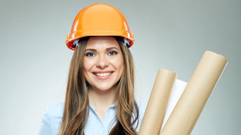 rekonštrukcia, žena, stavba,