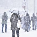Bratislava počasie sneh zima, snezenie, doprava, zapcha