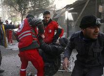 Ghúta nálety zranený Sýria