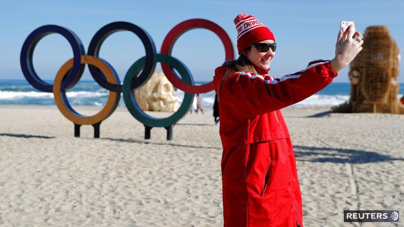 olympijské kruhy, Pjongčang
