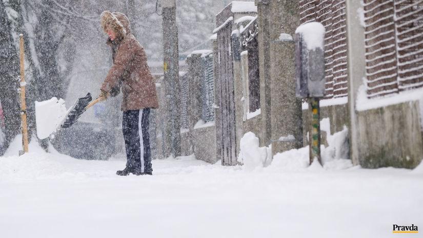počasie pocasie sneh snezenie kalamita...