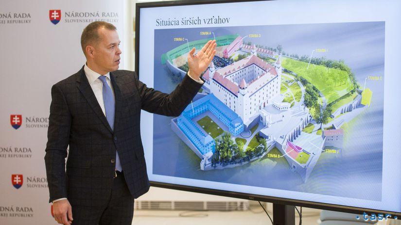 SR Kancelária NR SR Bratislava hrad...