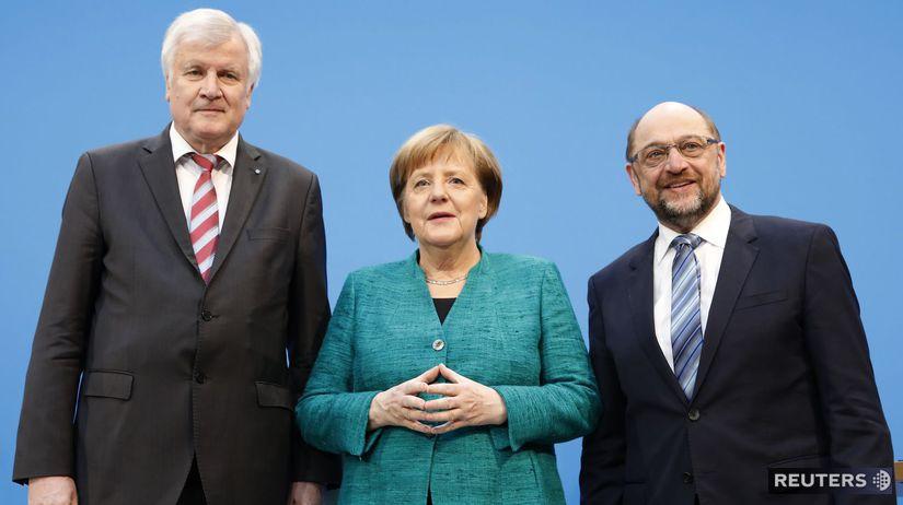 Angela Merkelová schulz seehofer