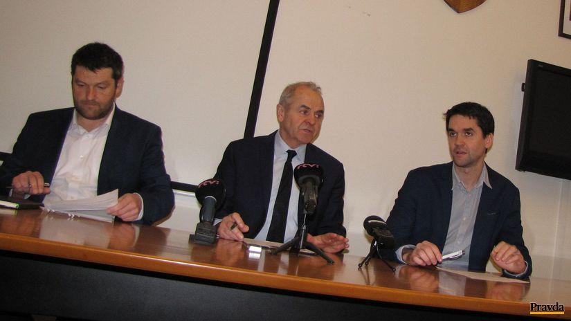Ján Lunter, Tomáš Mišovič, Ondrej Lunter