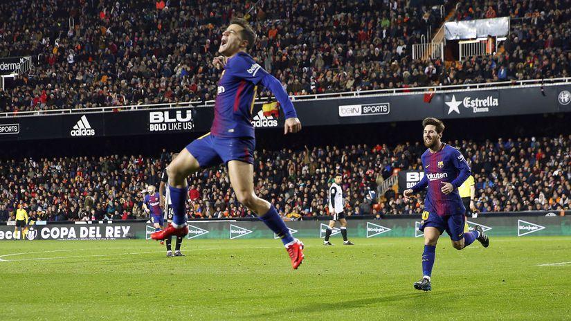 Philippe Coutinho, Lionel Messi