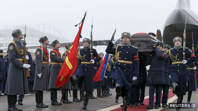Rusko, pohreb,