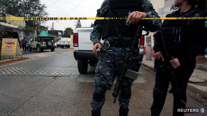 Mexiko, polícia, policajt