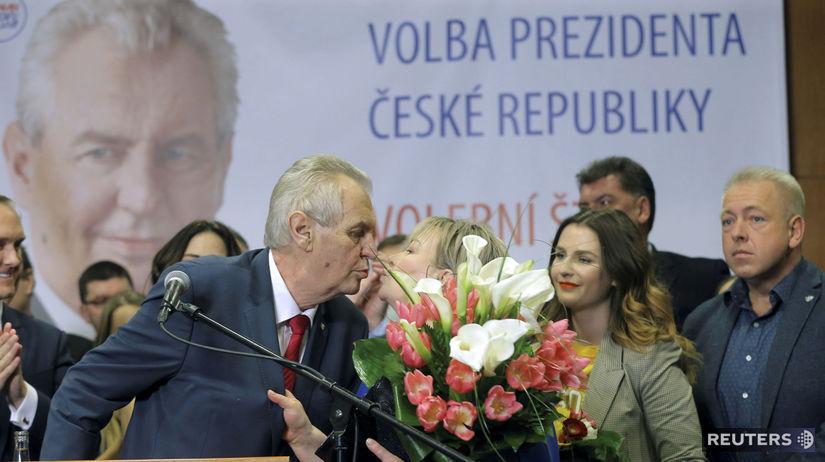 Miloš Zeman, Milan Chovanec