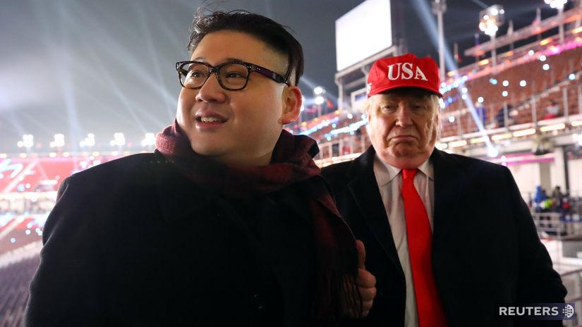 Pjongčang, Kim čong-un, Donald Trump