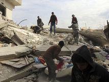 Sýria, Damask, IS, boje, nálety, obete