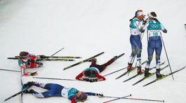 ZOH 2018, beh na lyžiach