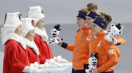 ZOH 2018, Holandsko, rýchlokorčuľovanie