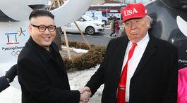 ZOH 2018, Kim, Trump