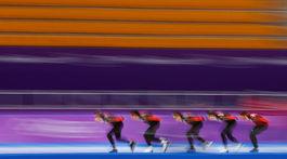 ZOH 2018, rýchlokorčuľovanie