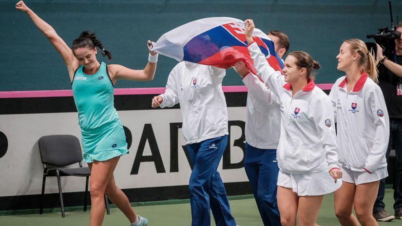 Fed Cup, tenis, radosť