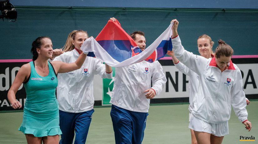 Tenis, Fed Cup, radosť