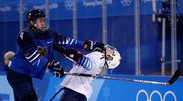 ZOH 2018, hokej ženy, Fínsko - USA