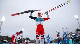 ZOH 2018, skiatlon, Simen Hegstad Krüger