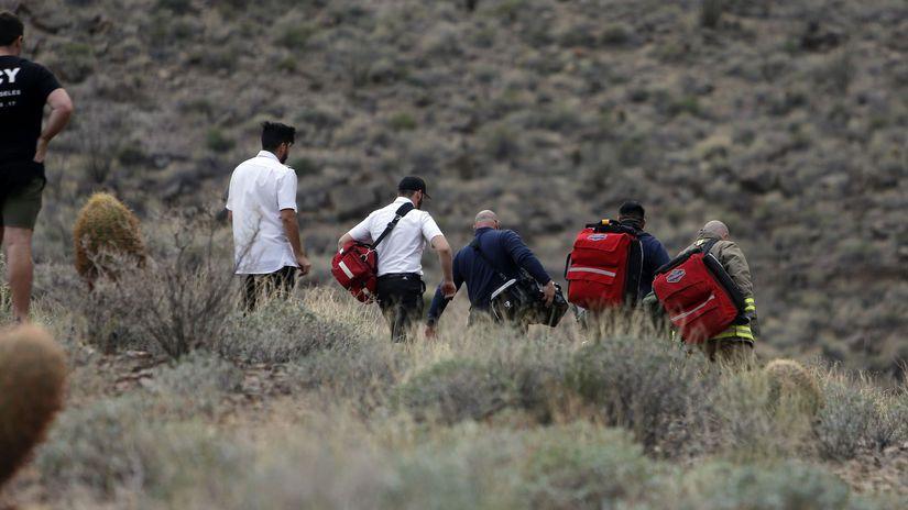 Grand Canyon, usa, záchranári