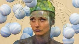 Interbeauty - súťaž v maľovaní na telo