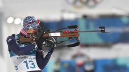 ZOH 2018, biatlon, Anastasia Kuzminová