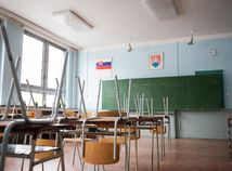 škola, trieda, štrajk