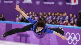 ZOH 2018, krasokorčuľovanie, Keidži Tanaka