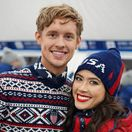 Evan Bates a Madison Chock