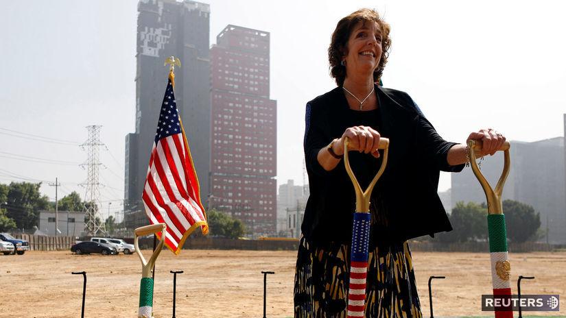 Mexiko, USA, ambasáda, Roberta S. Jacobson