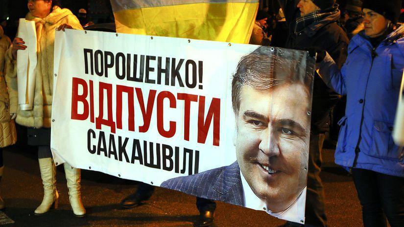 Ukrajina Saakašvili Poľsko