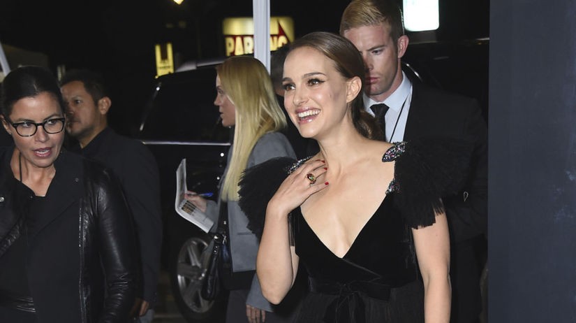 Herečka Natalie Portman vyzerala očarujúco v...