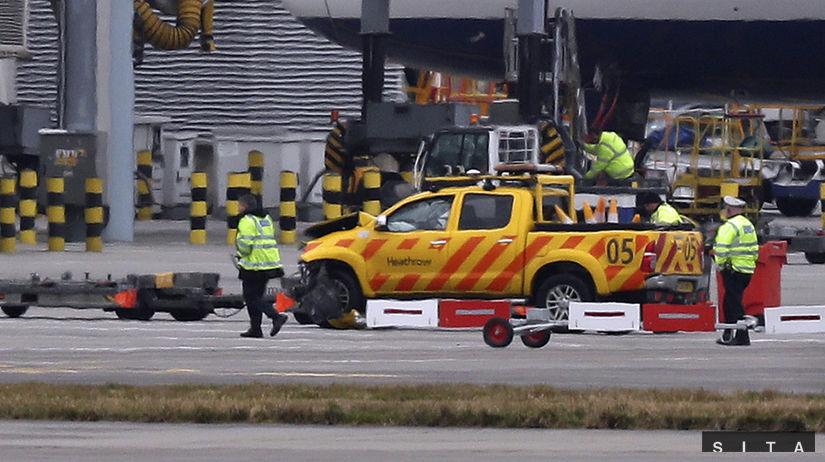 nehoda, Heathrow, letisko