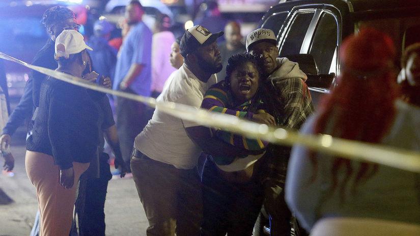 New Orleans, streľba, usa