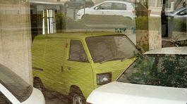 Subaru - opustená predajňa na Malte