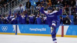 ZOH 2018, hokej, Slovensko - Rusko, Čerešňák