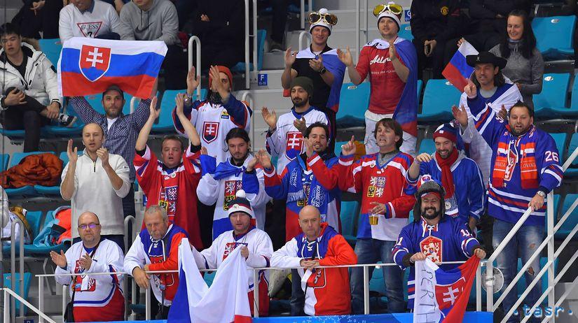 ZOH 2018, hokej, Slovensko - Rusko, fanúšik
