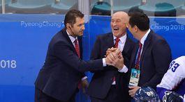 ZOH 2018, hokej, Slovensko - Rusko, Lašák, Ramsay