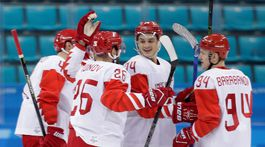 ZOH 2018, hokej, Slovensko - Rusko