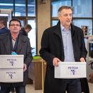 NR SR, prijatie petičného výboru, OZ KOVO, Emil Machyna, predseda parlamentu