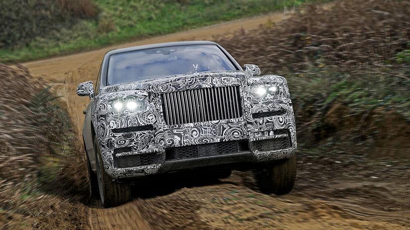 Rolls-Royce Cullinan - testy 2018